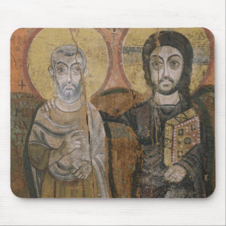 Icon depicting Abbott Mena with Christ Mouse Pad