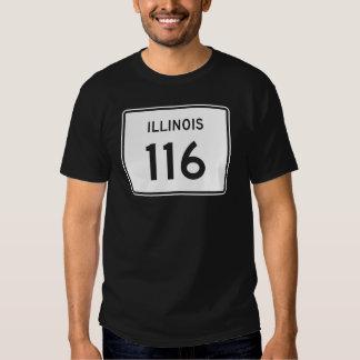 Illinois Route 116 Tshirt