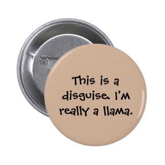 I'm a llama 2 inch round button