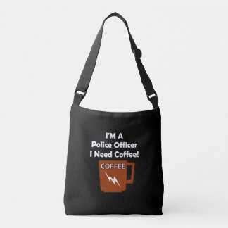 I'M A Police Officer, I Need Coffee! Tote Bag