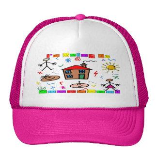 I'm Going to Preschool Trucker Hat