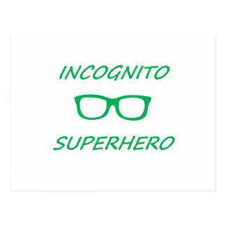 Incognito Superhero 01G Postcard