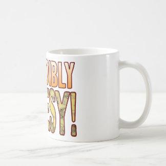 Incredibly Blue Cheesy Classic White Coffee Mug