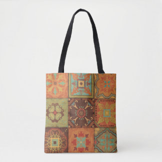 Indian Patterns Tote Bag