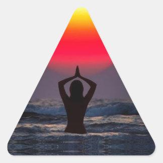 Inspire Triangle Sticker