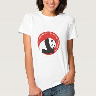 International Save Bears Day  PANDA Tshirts