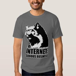 Internet : Affaires sérieuses (T-shirt drôle de T Shirts