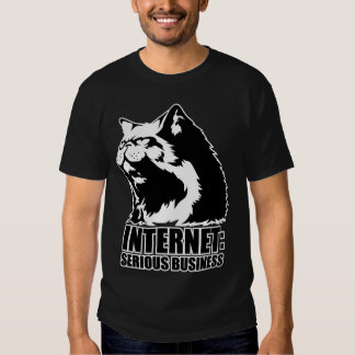 Internet : Affaires sérieuses (T-shirt drôle de Tee Shirts