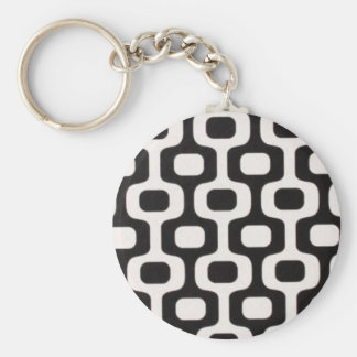 Ipanema Leblon sidewalk Rio Brasil Basic Round Button Keychain