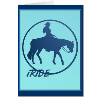 iRIDE framed Card
