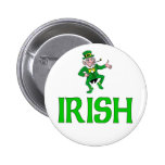 Irish 2 Inch Round Button