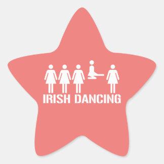 Irish dance star sticker