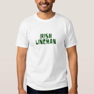 Irish Lineman Shirts