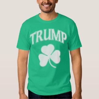 Irish Trump Shamrock St Patrick's Day Tshirt