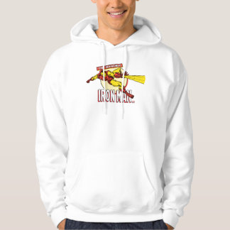Iron Man Retro Character Graphic Pullover