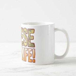 Is My Life Blue Cheese Classic White Coffee Mug