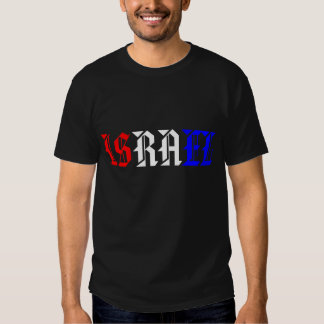 ISRAEL Red White and Blue Shirts