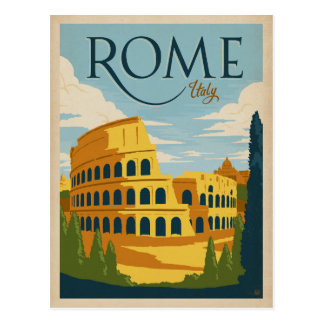 Italy, Rome Postcard