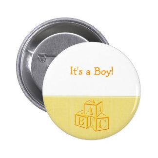 It's a Boy! 2 Inch Round Button