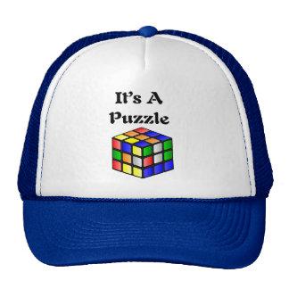 It's A Puzzle cube Trucker Hat