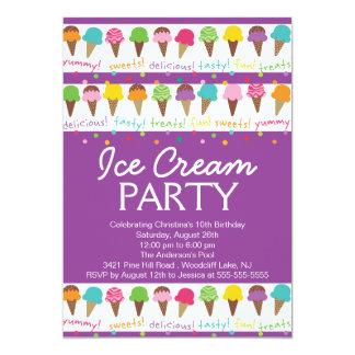 It's a Summer Ice Cream Party Invitation