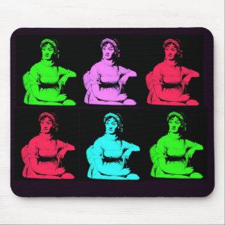 Jane Austen Collage Mouse Pad