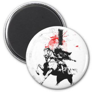 Japan Samurai 2 Inch Round Magnet