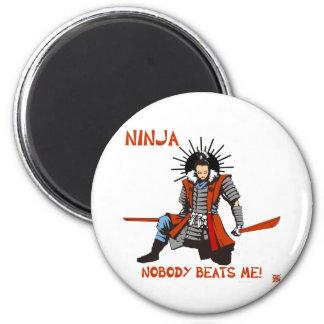 Japanese NINJA ninja 2 Inch Round Magnet