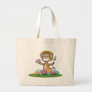Jardinier de fleur de singe sac en toile jumbo