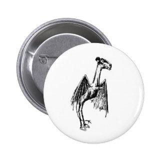 Jersey Devil 2 Inch Round Button