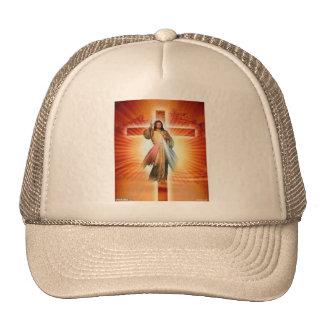 Jesus beats the cross trucker hat