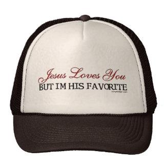 Jesus Loves You Favorite Trucker Hat