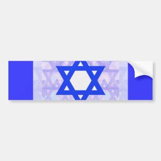 Jewish Heritage,... the Star of David. Bumper Sticker