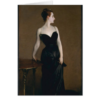 John Singer Sargent's Portrait of Madame X Note Card