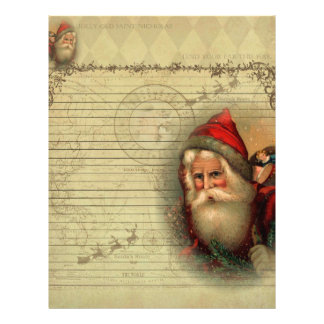 Jolly Old St. Nicholas Letter from Santa Paper Personalized Letterhead