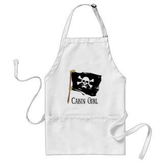 Jolly Roger Cabin Girl Standard Apron