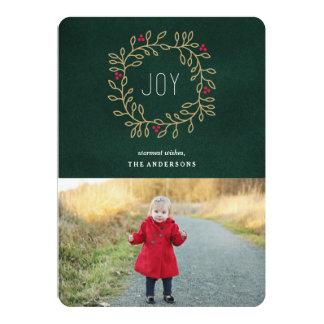 """Joyous Tradition 5"""" X 7"""" Invitation Card"""