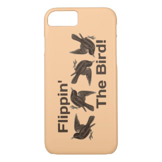"""Just Silly """"Flippin' The Bird"""" iPhone 7 Case"""