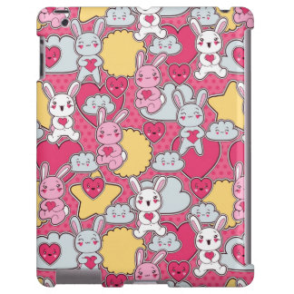 Kawaii Child Pattern with Cute Doodles