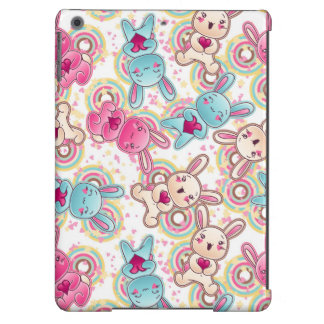 Kawaii Child Pattern with Cute Doodles Cover For iPad Air