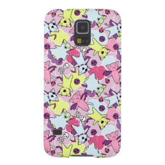 Kawaii pattern of Halloween cats Galaxy S5 Cases