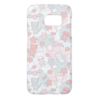 kawaii pattern with doodle samsung galaxy s7 case
