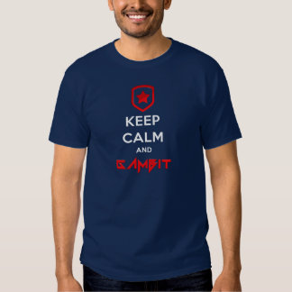Keep calm and Gambit Tshirts