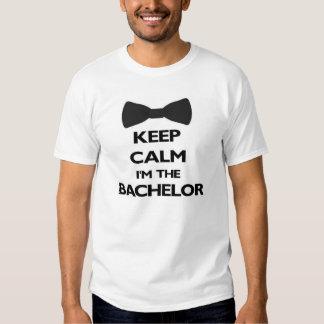 Keep Calm I'm The Bachelor Wedding Funny Tshirts