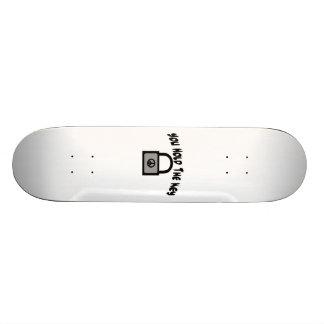 Key To Peace Custom Skateboard