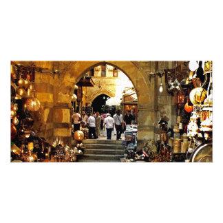 Khan al-khalili market photo cards
