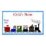 Kid's Animal Train Calling Card Business Card