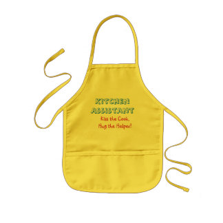 "Kid's ""Assistant Cook"" Apron"