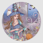 Kirra - Witch and Owl Sticker