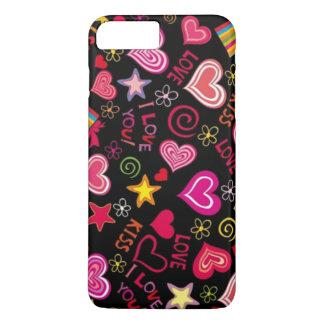 Kiss Kiss Love Love iPhone 7 Plus Case